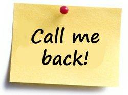 Request callback - mobile discos
